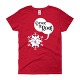 Special Science-y Snowflake / Women's Semi-fitted Tee