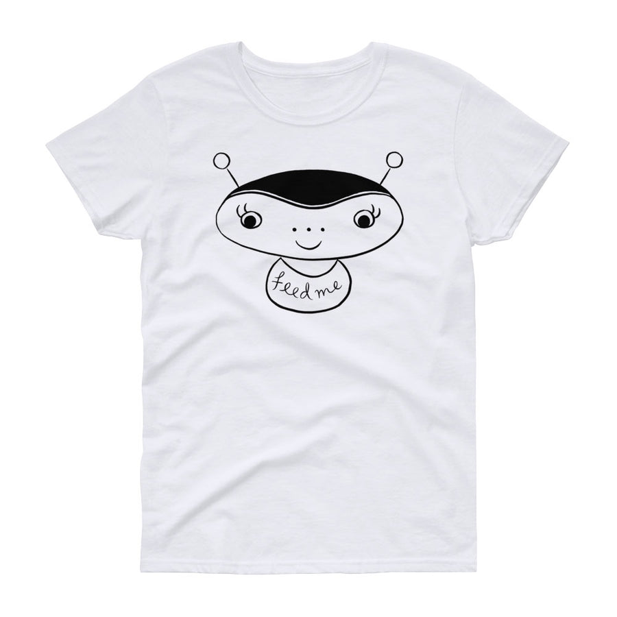 Feed Me Alien / Women's Semi-fitted Tee