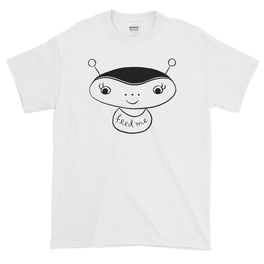 Feed Me Alien / Men's Straight-cut Tee