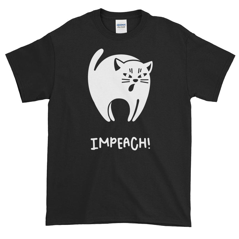 Black Cat Impeach / Men's Tee