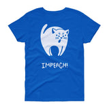 Black Cat Impeach / Women's Semi-fitted Tee