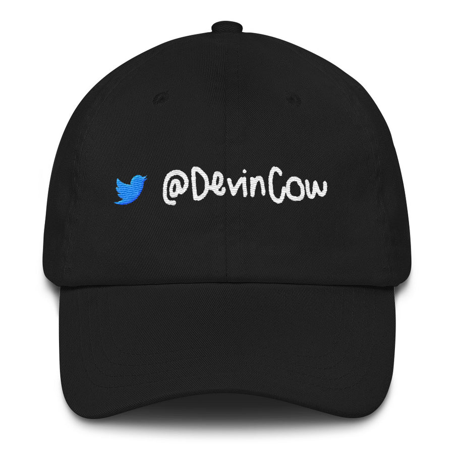 DevinCow with Larry the Bird / Dad Hat