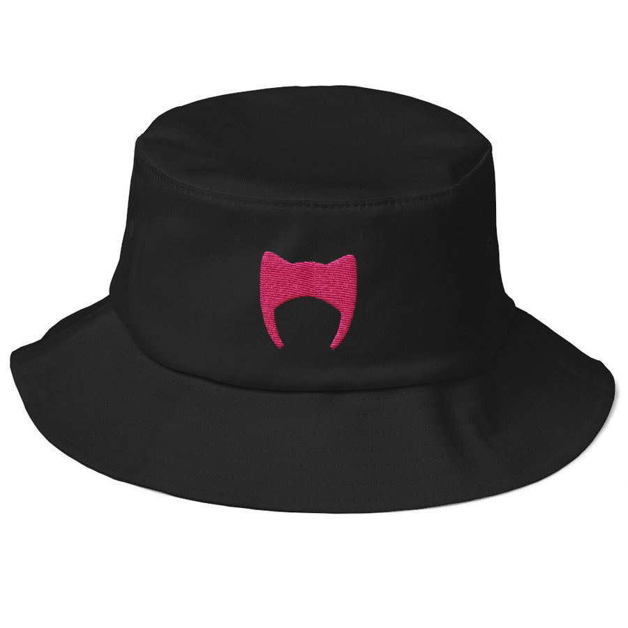 PussyHat / Old School Bucket Hat