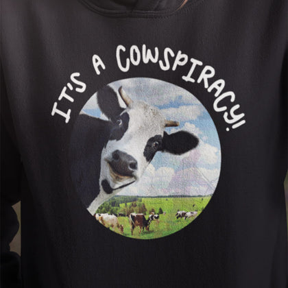 It's A Cowspiracy / Hoodie