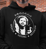 Protect Speech, Voting, DevinCow / Hoodie