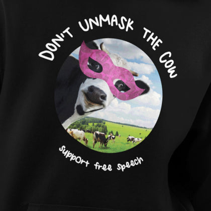 Don't Unmask The Cow / Unisex Long-sleeve Tee