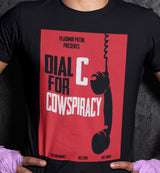 Dial C For Cowspiracy / Men's Tee