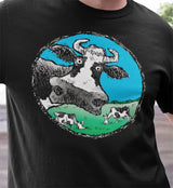 DevinCow Cartoon / Men's Tee