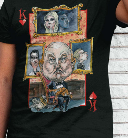 unPresidented Donald Trump: King of Hearts / Men's Tee