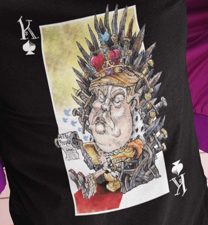 unPresidented Donald Trump: King of Spades / Men's Tee