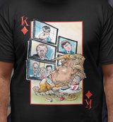 unPresidented: King of Diamonds / Women's Semi-fitted Tee