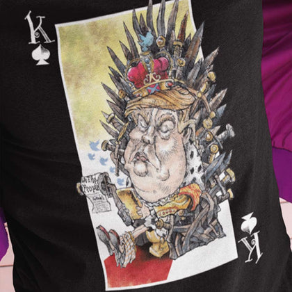 unPresidented: King of Spades / Women's Semi-fitted Tee