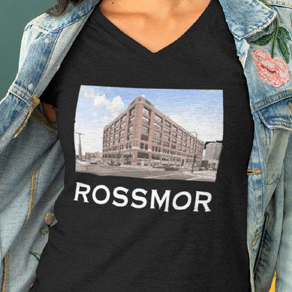 Rossmor / Women's V-neck Tee