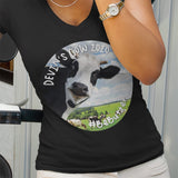 Devin's Cow 2020 / Women's V-neck Tee