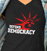 Defend Democracy / Women's V-neck Tee