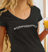 #DerangedDonald / Women's V-neck Tee