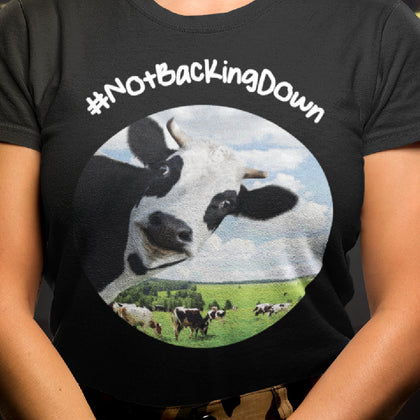 @DevinCow: #NotBackingDown / Women's Semi-fitted Tee