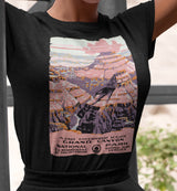 Grand Canyon WPA Poster / Women's Semi-fitted Tee