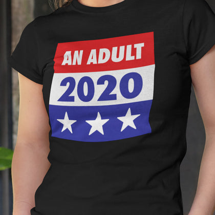 An Adult 2020 / Women's Semi-fitted Tee