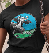 @DevinCow Cartoon / Women's V-neck Tee