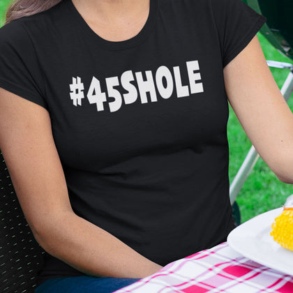 #45SHOLE / Women's Semi-fitted Tee