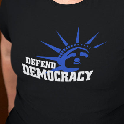 Defend Democracy / Women's Semi-fitted Tee