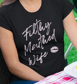 Filthy Mouthed Wife / Women's Semi-fitted Tee