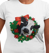 @DevinCow Wreath / Women's Semi-fitted Tee