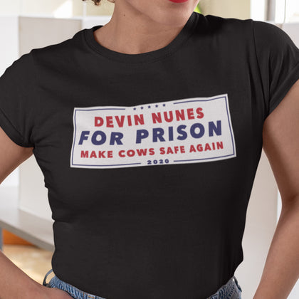 Devin Nunes For Prison / Women's Semi-fitted Tee