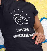 I AM THE WHISTLEBLOWER / Women's Semi-fitted Tee