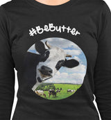 #BeButter / Women's Semi-fitted Tee