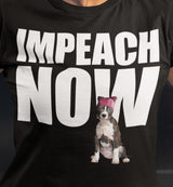 Impeach Now Stark Resistance Pittie / Men's Tee