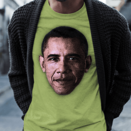 Obama / Women's Semi-fitted Tee