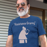 Resistance Granny Tablet / Men's Tee