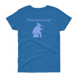 Resistance Granny Tablet / Womens Semi-fitted Tee