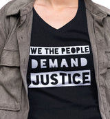 We The People Demand Justice / Women's V-neck Tee