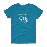 Persist Turtle / Women's Semi-fitted Tee
