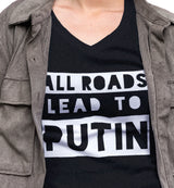 All Roads Lead to Putin / Women's V-neck Tee