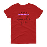 Sweetie Pie / Women's Semi-fitted Tee