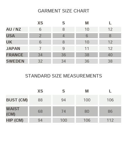 OUR SIZING
