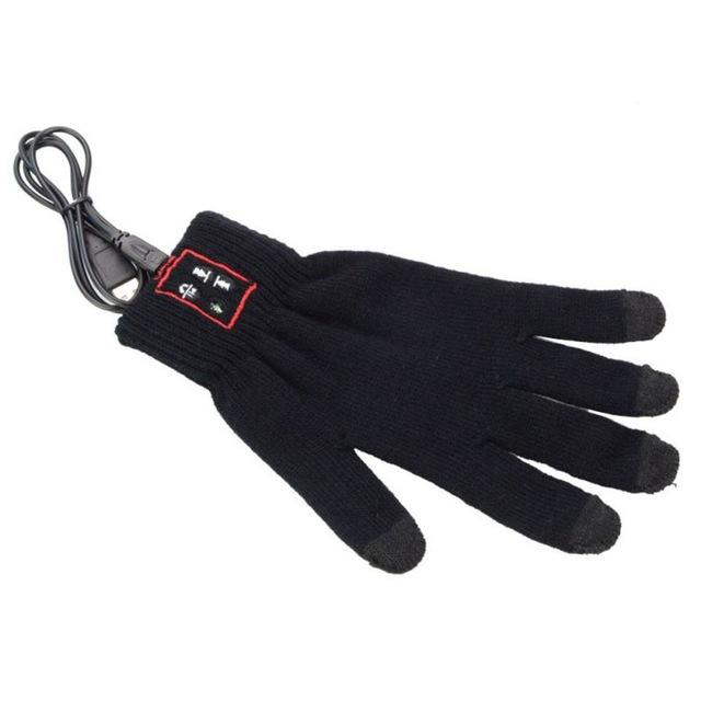 Bluetooth Touch Screen Gloves for Mobile Headset Speaker