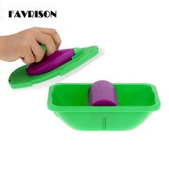HOT! Point And Paint Roller and Tray Set Household Painting Brush