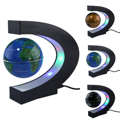 Anti Gravity Magnetic Floating Globe World Map with LED Light