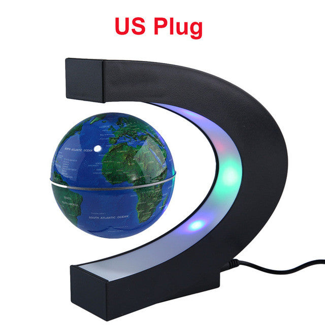 Anti gravity magnetic floating globe world map with led light monavy anti gravity magnetic floating globe world map with led light gumiabroncs Image collections