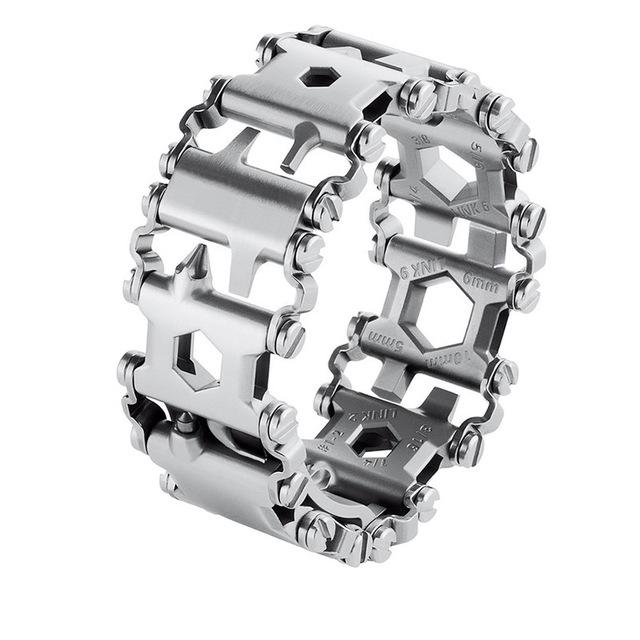 29-in-1 Steel Multifunctional Tool Bracelet