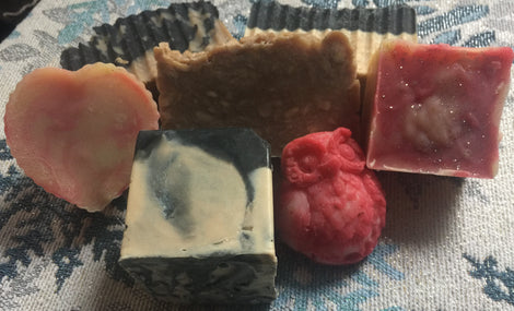 Soaps with Fragrance Oil