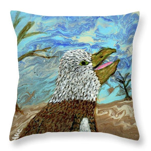 Desert Eagle - Throw Pillow