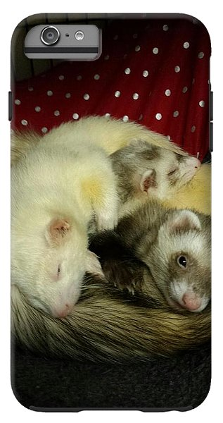 Ferret Pile - Phone Case