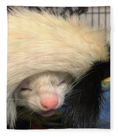 Ferret Tail Hat - Blanket