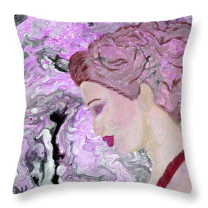 Misty - Throw Pillow